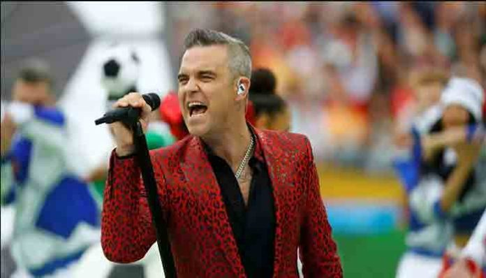 Robbie williams se cura a través de oraciones